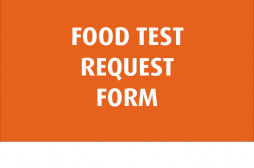Request food testing